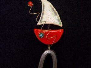 Επιτραπέζια Κόκκινη Βάρκα