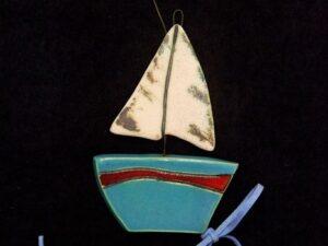 Μπλε Καράβι με Γλάρο